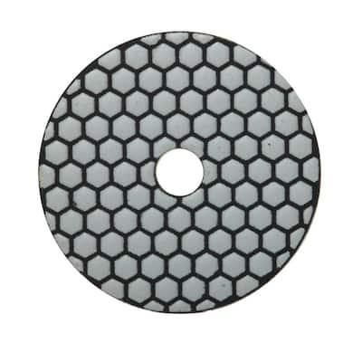 4 in. 100 Grit Resin Dry Polishing Pad