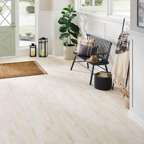 White Whisper Maple Laminate Flooring, White Maple Laminate Flooring