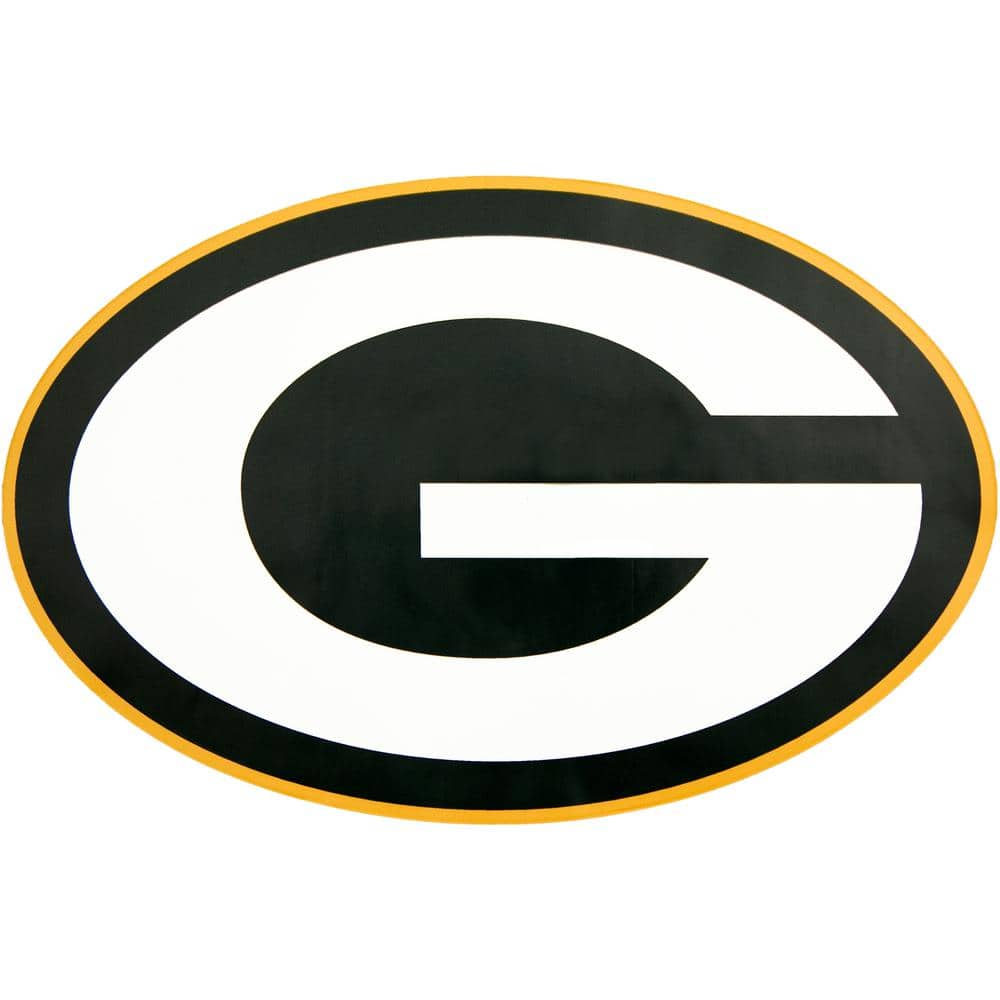 Applied Icon NFL Green Bay Packers Outdoor Logo Graphic- Large-NFOP1203 -  The Home Depot