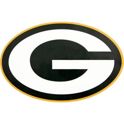 NFL Green Bay Packers Outdoor Logo Graphic- Large