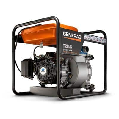 7 HP 2 in. Gas Powered Trash Pump
