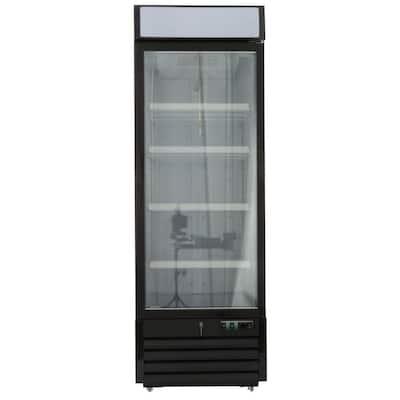 X-Series 23 cu. ft. Single Door Commercial Upright Merchandiser Freezer in White