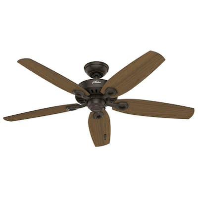 Builder Elite 52 in. Indoor/Outdoor New Bronze Ceiling Fan