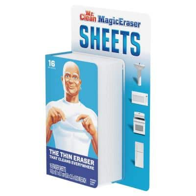 Thin Sheets Magic Eraser Scouring Sponge