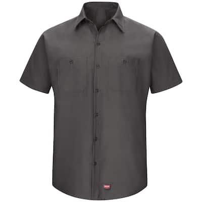 Men's 2X-Large Black MIMIX Short Sleeve Work Shirt