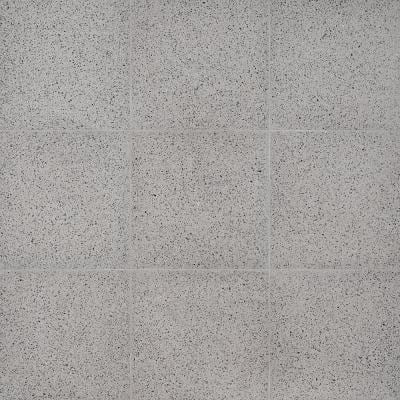 Raleigh Stone Square 16 in. x 16 in. Polished Cement Terrazzo Floor and Wall Tile (3.55 sq. ft./Case)