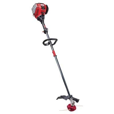 30 cc 4-Cycle Straight Shaft Gas Trimmer with Attachment Capabilities