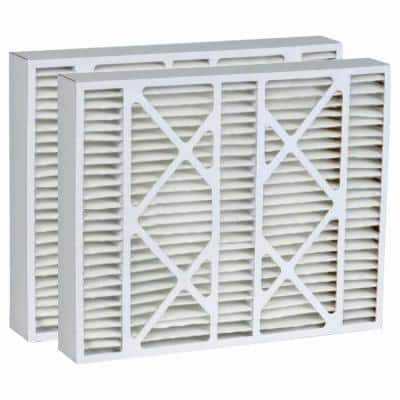 20  x 25  x 5  Micro Dust Merv 13 Replacement for Lennox Air Filter (2-Pack)