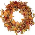 32 in. Autumn Harvest Artificial Wreath