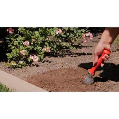 12.75 in. Comfort Non-Slip Grip Garden Hand Scoop