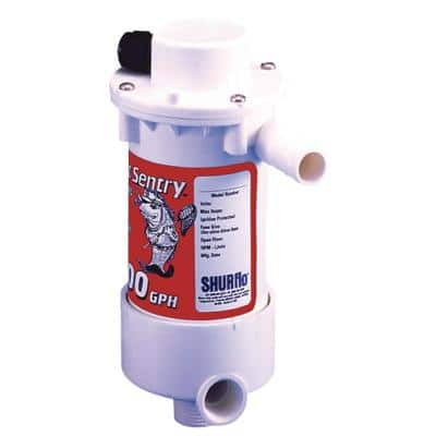 Bait Sentry Mag - Drive Livewell Pump, 800 GPH