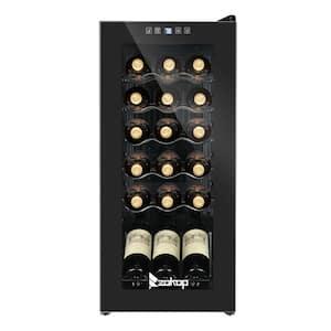 13.8 in. 18-Bottle Compressor Freestanding Wine and Beverage Cooler