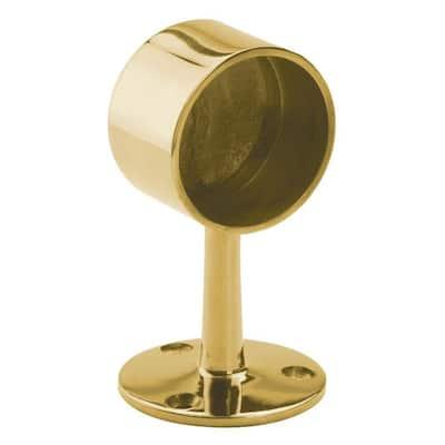 Brass Flush End Post for 2 in. Outside Diameter Tubing