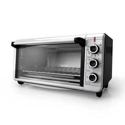 8-Slice Extra-Wide Convection Toaster Oven, Stainless Steel