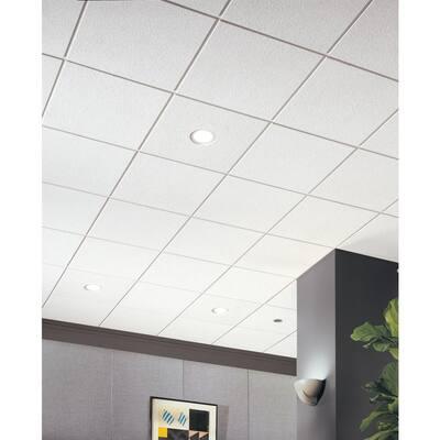 Cirrus 2 ft. x 2 ft. Tegular Ceiling Tile (48 sq. ft. / Case)