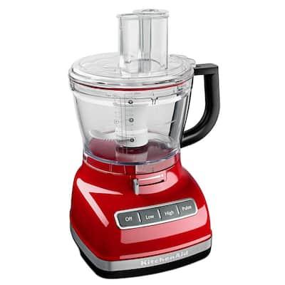 ExactSlice 14-Cup 3-Speed Empire Red Food Processor