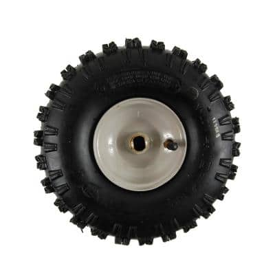 Snow Blower 10 in. x 4 in. Wheel Assembly