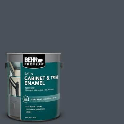1 gal. #PPU25-22 Chimney Satin Enamel Interior Cabinet and Trim Paint