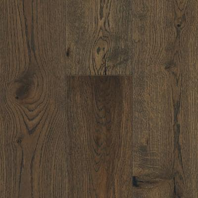 Weathered Oak 6.5 mm T x 6.5in. W x 48in. Varying L. Waterproof Engineered Click Hardwood Flooring (21.67 sq.ft./case)