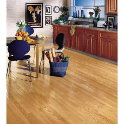 American Originals Natural Red Oak 3/4 in. T x 3-1/4 in. W x Varying L Solid Hardwood Flooring (22 sq. ft. /case)