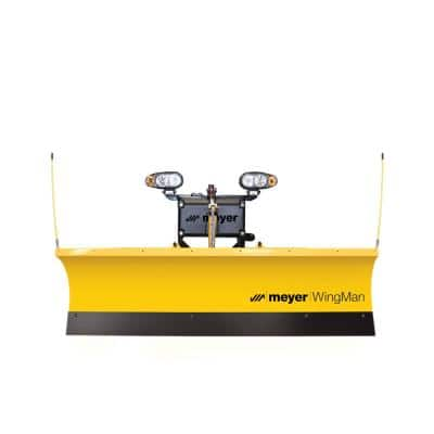 WingMan 80 in. W x 36 in. H Commercial Power Angle Snow Plow