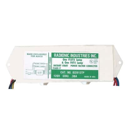 8 and 13-Watt T5 1-Lamp Normal Power Factor Magnetic Ballast