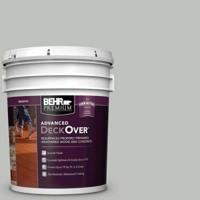 5 gal. #SC-365 Cape Cod Gray Smooth Solid Color Exterior Wood and Concrete Coating