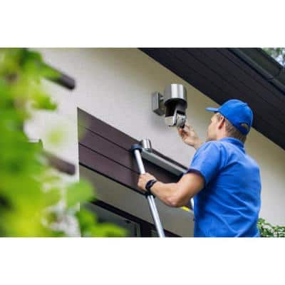 Triton Wireless 1080P Outdoor Auto PTZ Security Camera with Face, Vehicle, Pet Recognition, Fire Warning, Night Vision