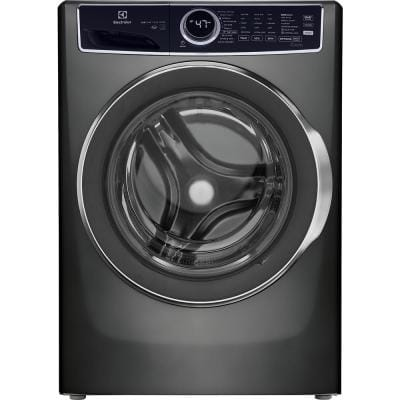4.5 cu. ft. Front Load Washer LuxCare Wash and Perfect Steam in Titanium