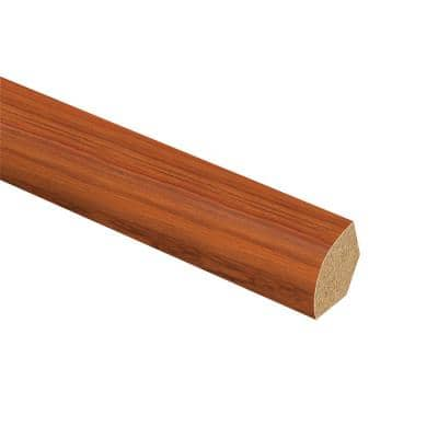 Paradise Jatoba 5/8 in. Thick x 3/4 in. Wide x 94 in. Length Laminate Quarter Round Molding