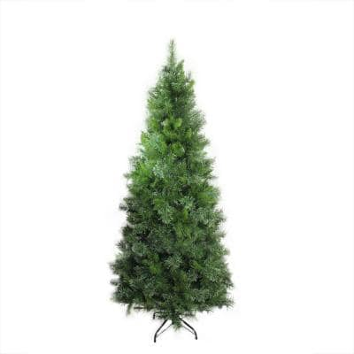 7.5 ft. Mixed Cashmere Pine Medium Unlit Artificial Christmas Tree