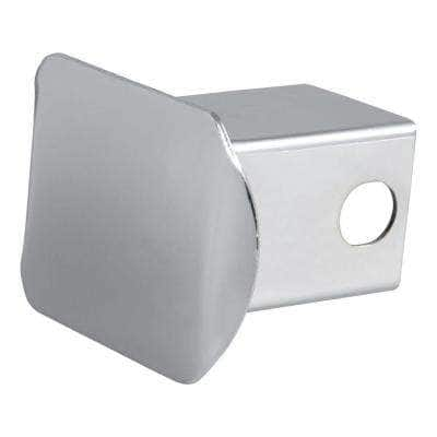 """2"""" Chrome Steel Hitch Tube Cover"""