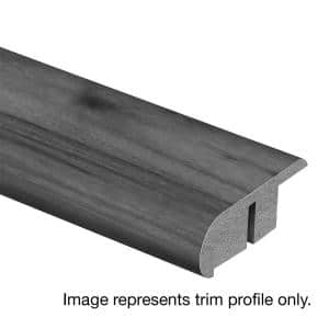 Highrock Grey Oak 3/4 in. Thick x 2-1/8 in. Wide x 94 in. Length Laminate Stair Nose Molding