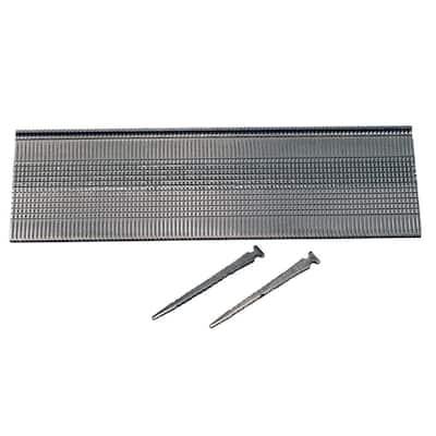 2 in. x 16-Gauge Tape 1M Bright Steel T-Head Hardwood Flooring Nails (1000-Pack)