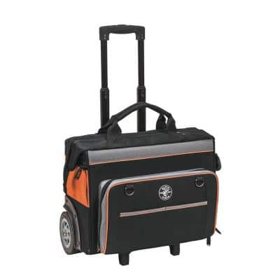 Tool Bag, Tradesman Pro™ Rolling Tool Bag, 24 Pockets, 19-Inch