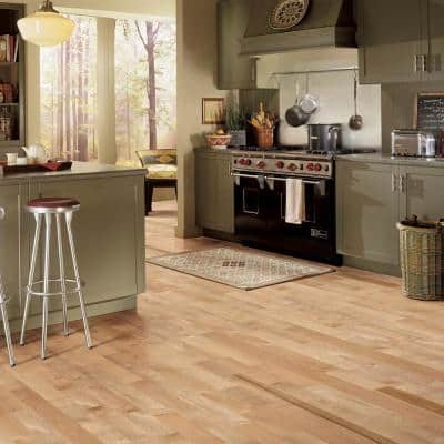 American Originals Country Natural Maple 5/16 in. T x 2-1/4 in. W x Varying L Solid Hardwood Flooring (40 sq. ft. /case)