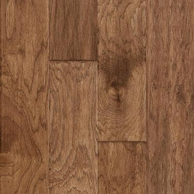 Time Honored Hickory Sienna 3/8 in. T x 5 in. W x Vary Length Engineered Click Hardwood Flooring (28.1 sq. ft./case)