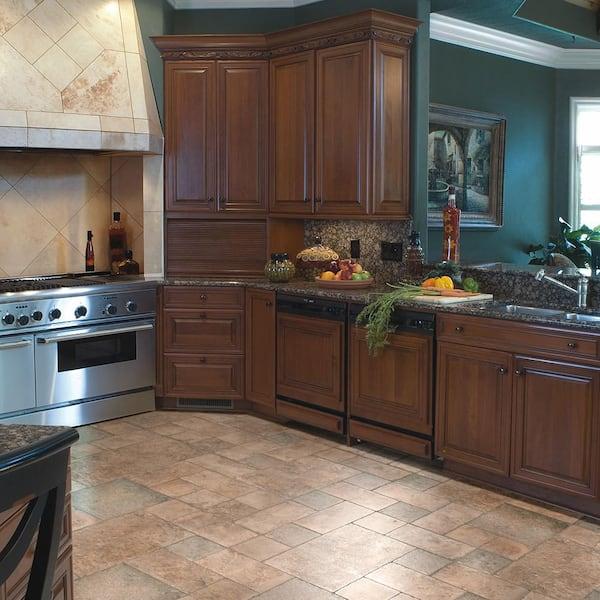 Home Decorators Collection Tuscan Stone, Laminate Tile Flooring Kitchen