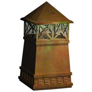 Knight Copper Chimney Pot