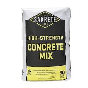 80 lb. Gray Concrete Mix