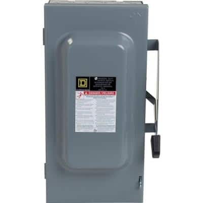100 Amp 240-Volt 3-Pole 3-Phase Non-Fusible Indoor General Duty Safety Switch