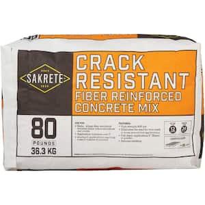 80 lb. Crack Resistant Concrete Mix
