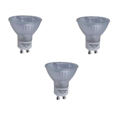 35-Watt GU10 Halogen Partial Reflector Light Bulb (3-Pack)