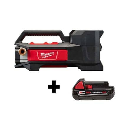 M18 18-Volt 1/4 HP Lithium-Ion Cordless Transfer Pump with M18 2.0Ah Battery
