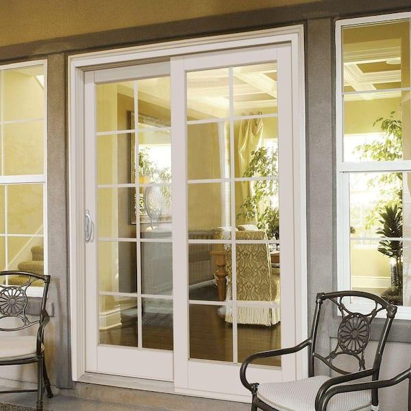 Mp Doors 72 In X 80 Smooth White, 10 Patio Door