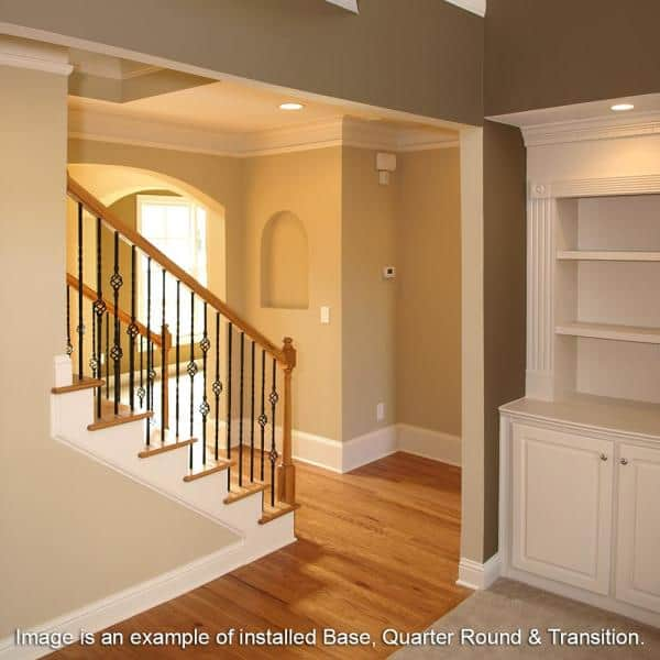 Length Vinyl T Molding 015223575, Rosewood Laminate Flooring Home Depot