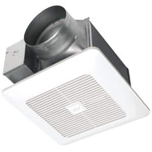 140 Cfm Dc Motor Ceiling Bathroom Exhaust Fan With Speed Control Energy Star Cbd120s The Home Depot