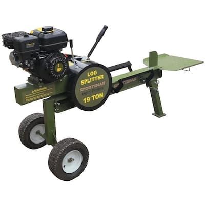 Earth Series 19-Ton 212 cc Gas Kinetic Log Splitter