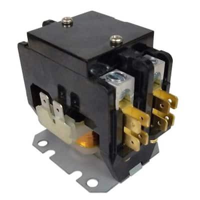 30 Amp 2-Phases 240-Volt Coil 600-Volt Max Definite Purpose Contactor