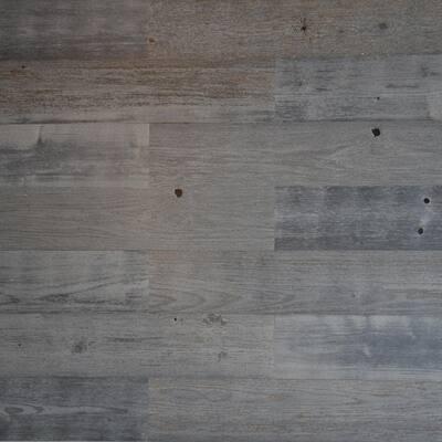 1/8 in. L x 5 in. W x 12-42 in. H Peel and Stick Blue Gray Wooden Decorative Wall Paneling (40 sq. ft./Box)
